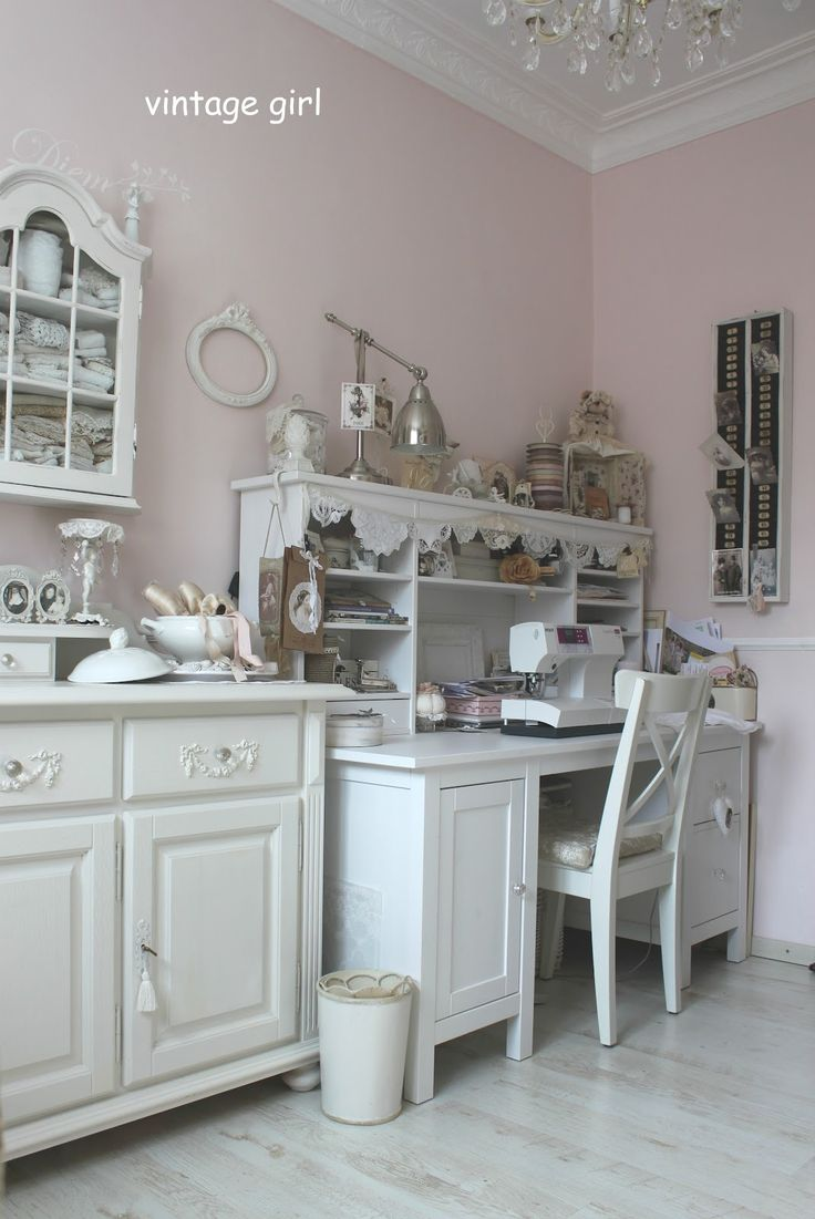 1000 images about shabby chic sewing room craft room on. Black Bedroom Furniture Sets. Home Design Ideas
