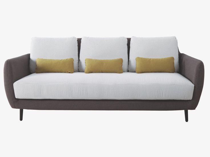 ELLA GREYS Fabric Fabric 3 seat sofa - 20% off- HabitatUK