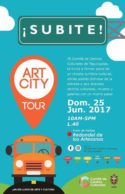 Honduras, Nación y Mundo: Art City Tour del 2017 por primera vez en Teguciga...