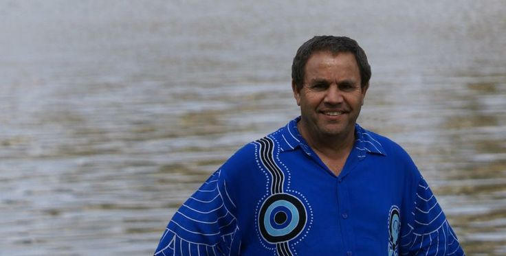 Larry Brandy Aboriginal storyteller, Wiradjuri Nation, Australia.