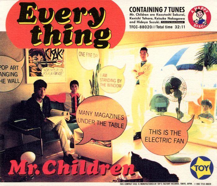 EVERYTHING / Mr.Children