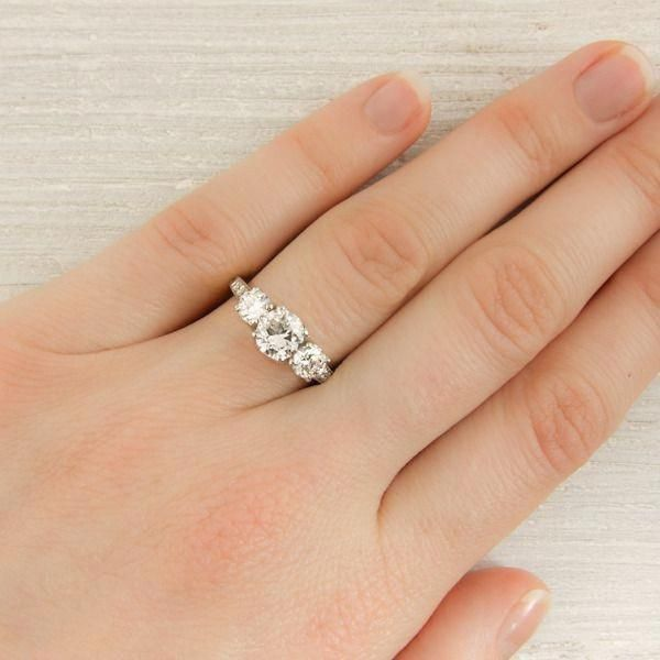 Affordable Wedding Rings Wedding Rings Uk Jewellers In 20181112 Three Stone Engagement Antique Engagement Rings Vintage Three Stone Engagement Rings