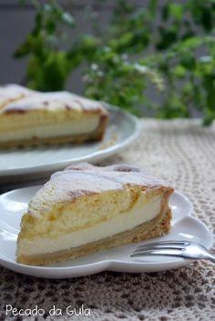 PECADO DA GULA: Torta de limão siciliano