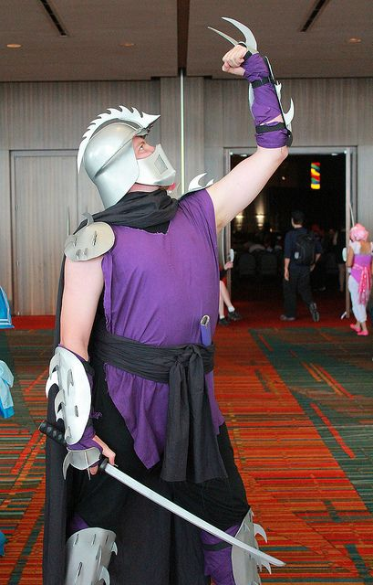 The Shredder, TMNT, photo by Firstpersonshooter.