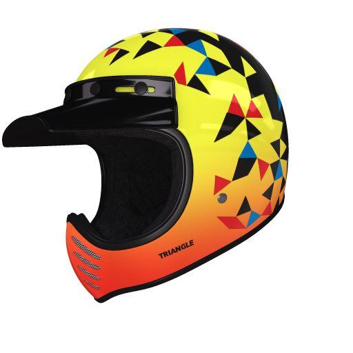 helmade Moto-3 Triangle Check this out! Mein ganz persönliches #helmade Design auf helmade.com :https://www.helmade.com/de/helmdesign-bell-moto-3-triangle-vintage-motorcross-helm.html