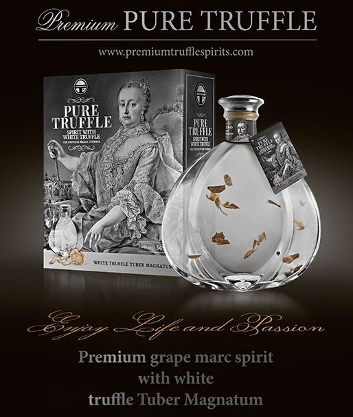 Unique and Premium Pure Truffle Spirit