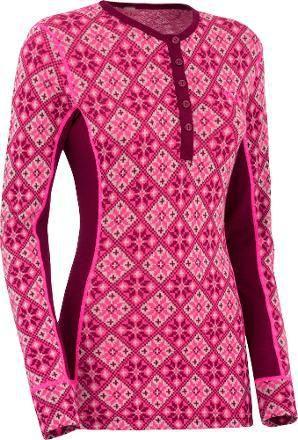 Kari Traa Rose Long Sleeve merino wool base layer top