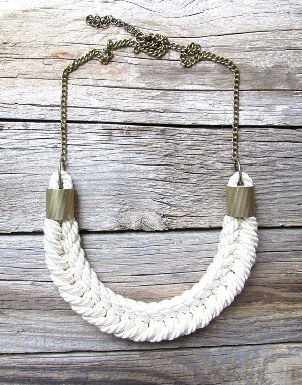 Handmade Rope Necklaces from NasuKka