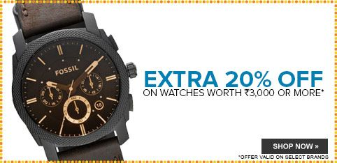Watches - Extra 20% Off