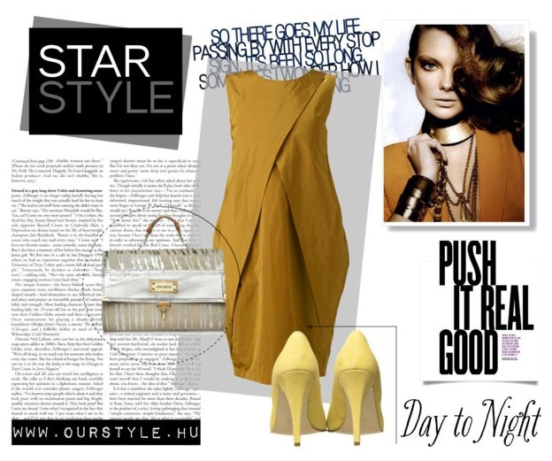 Ourstyle on Polyvore    Dress - Nubu  Bag - AnnaAmélie  Shoes - RekaVago