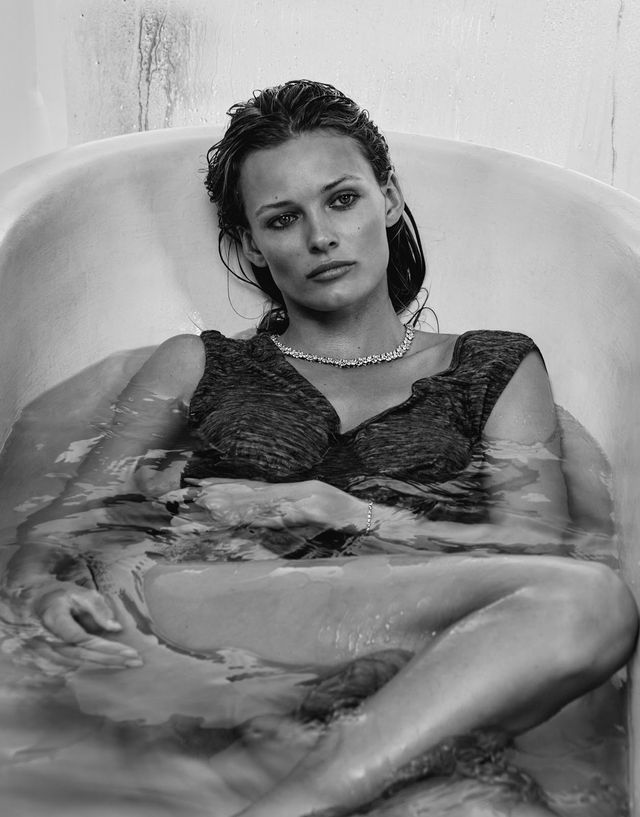 hot in the city: edita vilkeviciute by chris colls for porter summer 2016
