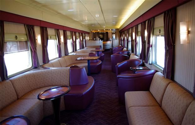 Ghan - see the world through travel. These train journeys are the best around #travel #vacation #trains