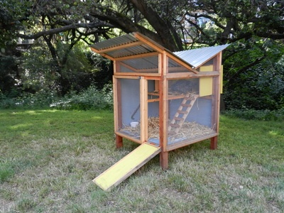 another fabulous chicken coop this one with a water catchment roof! from just fine & 10 best Rain water catchment images on Pinterest | Water catchment ... memphite.com