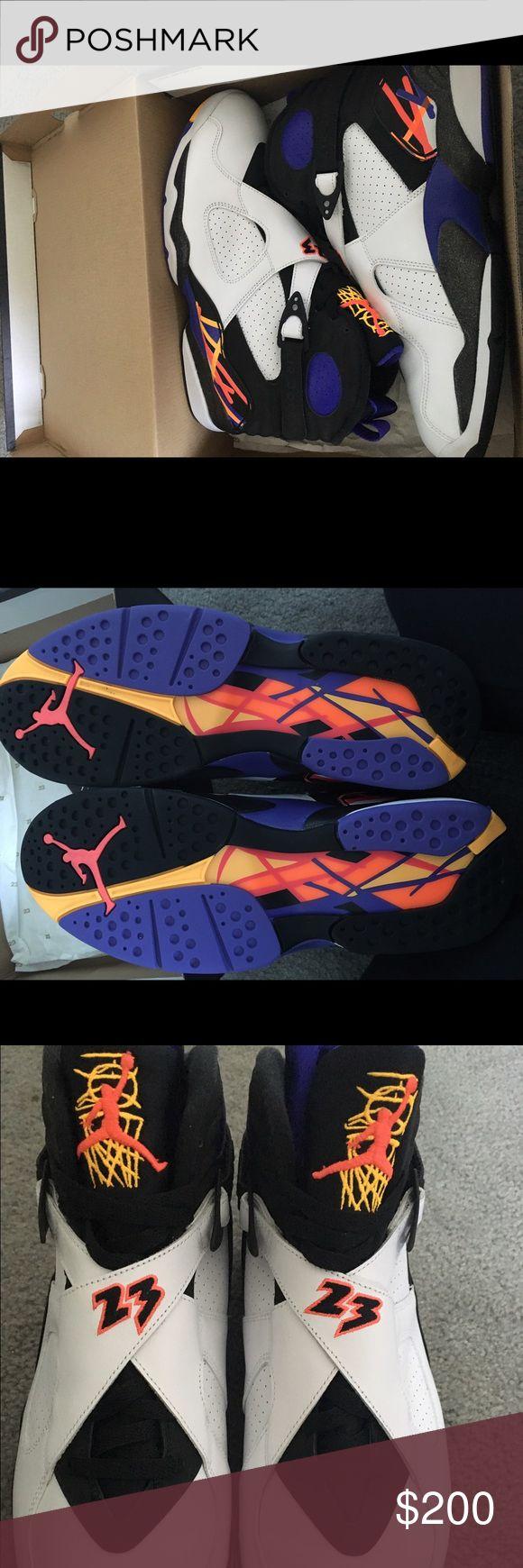 Air Jordan 8 Retro Very light wear, have box Jordan Shoes Sneakers