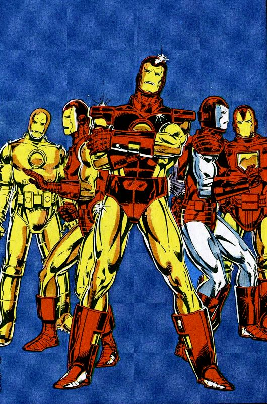 Iron Man — Bob Layton