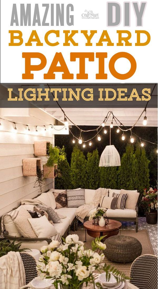 f61437f1a The best backyard patio designs with outdoor ceiling lights that may help  with your own patio ideas or outdoor landscape lighting.