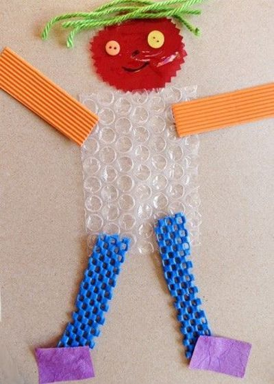 Texture man! Cute for sensory stimulation and tactile defensiveness #textureaversion #sensory @A K Therapeutic