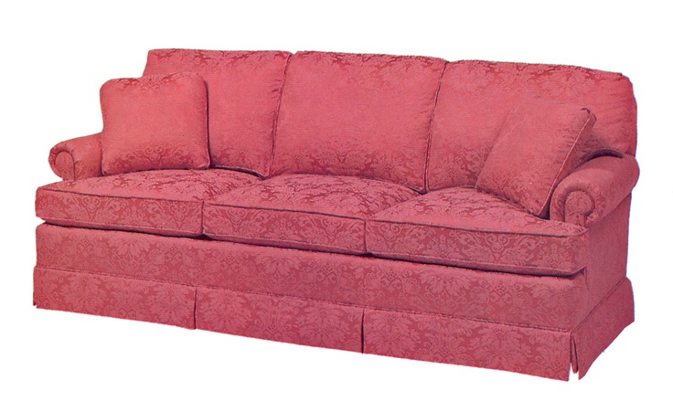Fairington Lawson Style Sofa Lower Rolled Arm And Tall