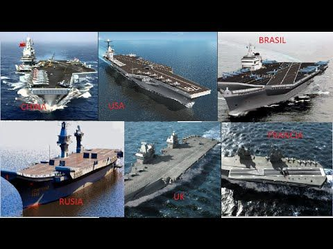 (FUTUROS PORTAAVIONES DEL MUNDO) FUTURE WORLD AIRCRAFT CARRIER