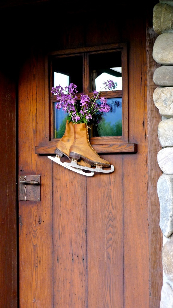 170 best ice skates and sleds images on pinterest ice for Wood back door with window