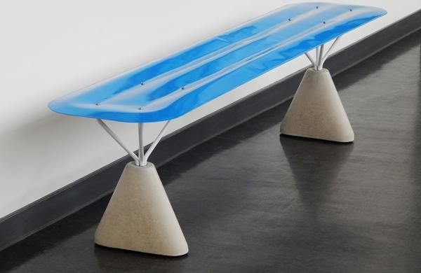 Shaping steel with tap water for softer shapes :: THE LONDON DESIGN FESTIVAL