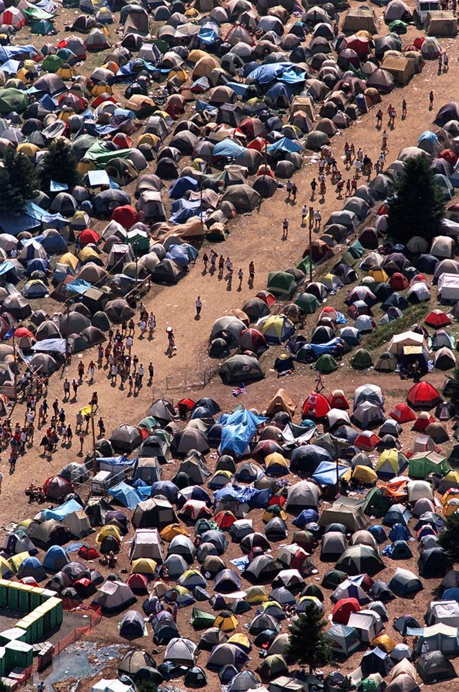 I Survived Woodstock '99.. And I don't even care- it was THE BEST weekend of my life! My god the memories.