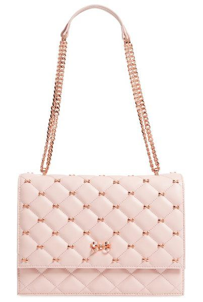 cfe81ba0560f72 Bow quilted leather shoulder bag by Ted Baker  tedbaker  bags