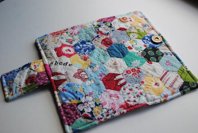 Hexagon Patchwork Wallet