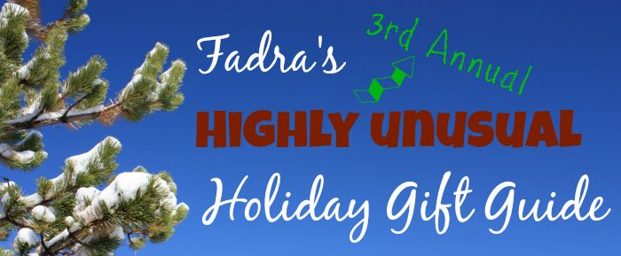 2014 Gift Guide :: Fadra's 3rd Annual Highly Unusual Holiday Gift Guide