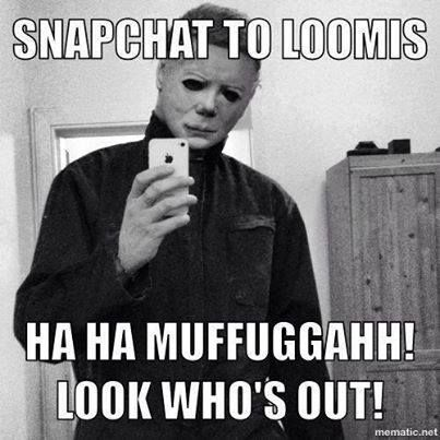 selfies michael myers