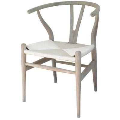 Wishbone Chair, White