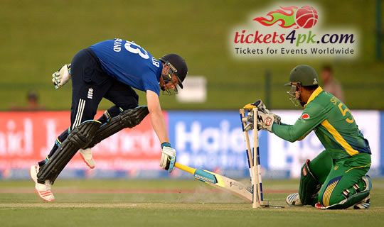 Mohammad Hafeez scored an amazing century leading Pakistan towards win by six wickets against England in the first day-night one day international on Wednesday at Abu Dhabi. Sports fans can enjoy amazing Pakistan v England Cricket action live with Tickets4pk.com easily.
