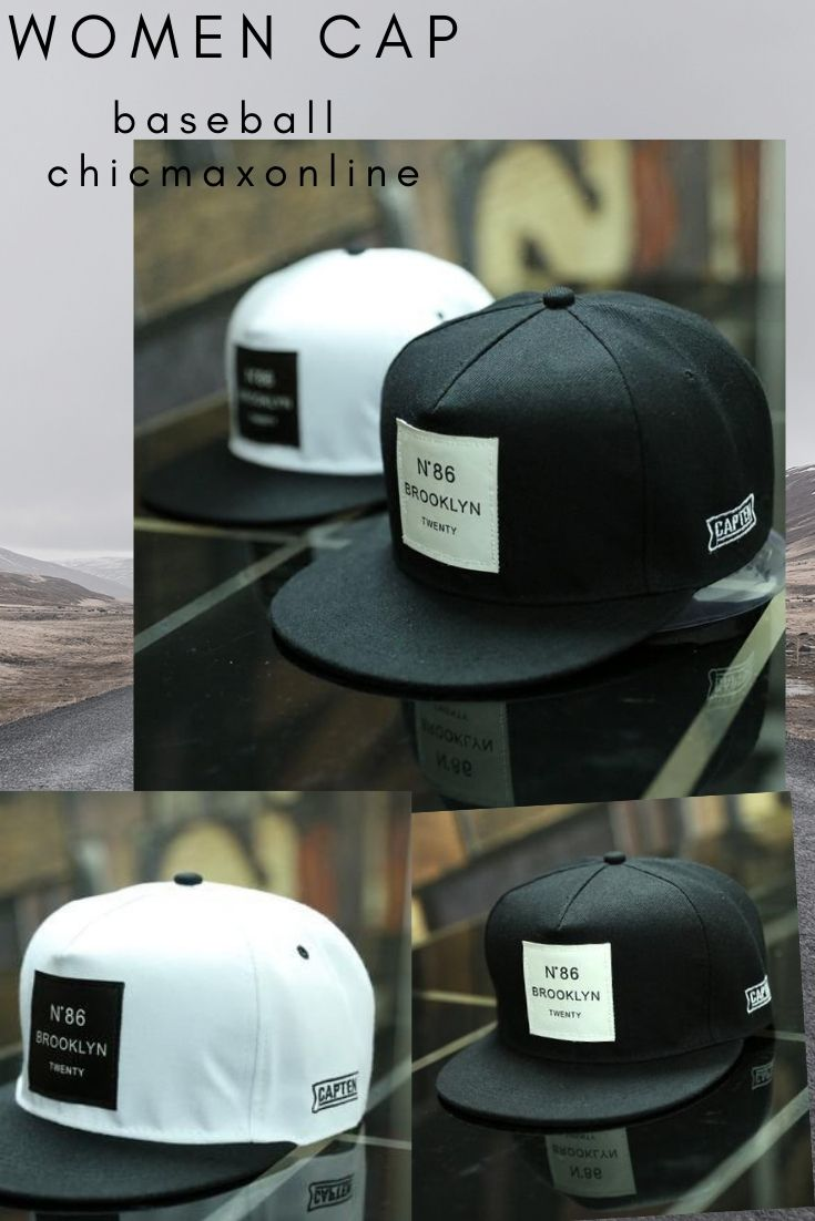 2018 New Men Womens BROOKLYN Letters Solid Color Patch Baseball Cap Hip Hop  Caps Leather Sun Hat Snapback Hats in 2019  bb68645566e0