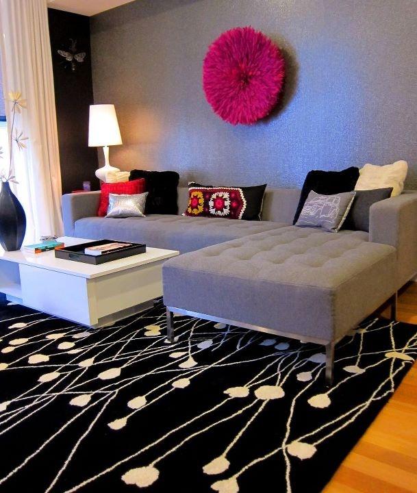 colorful livingroom for teen souls