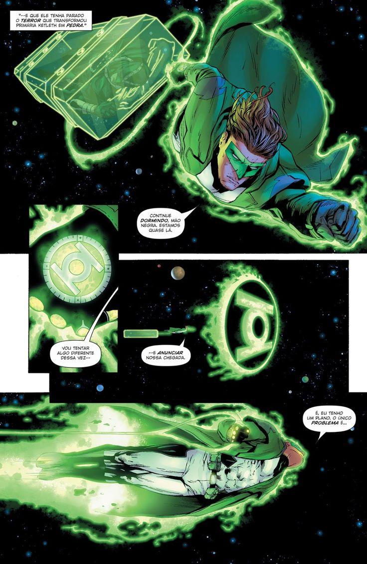 Os Novos 52! Lanterna Verde #46 - Galáxia dos Quadrinhos