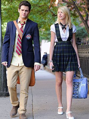 Dan and Jenny Humphrey