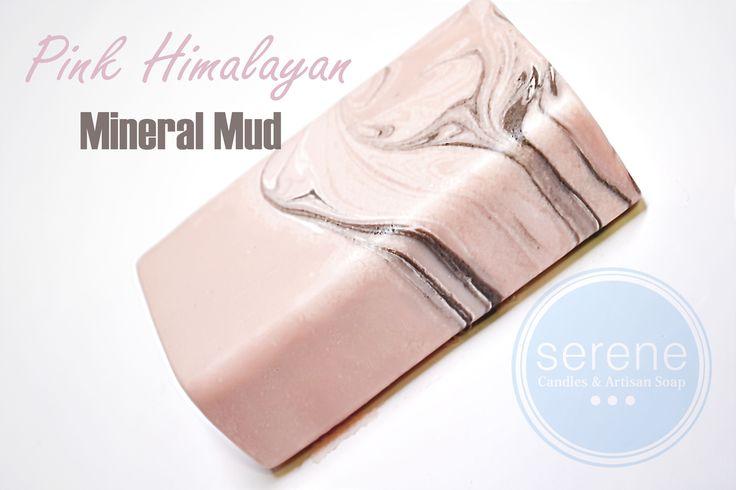 Pink Himalayan Sea Salt Mineral Mud Soap.