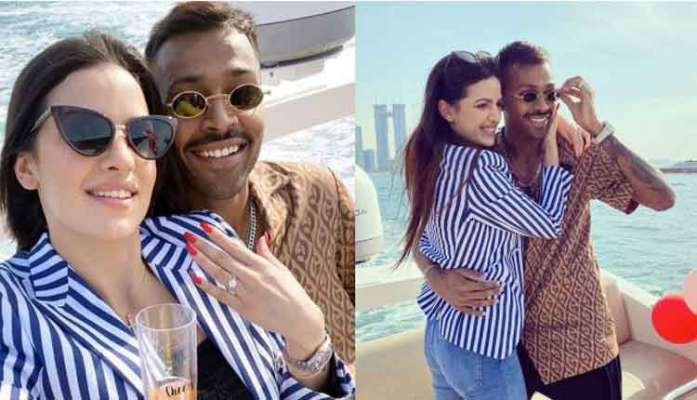 Hardikpandya Announces Engagement With A Serbianactress Natasa Stankovic In An Instagram Post In 2020 Actresses Most Beautiful Indian Actress Tv Actors