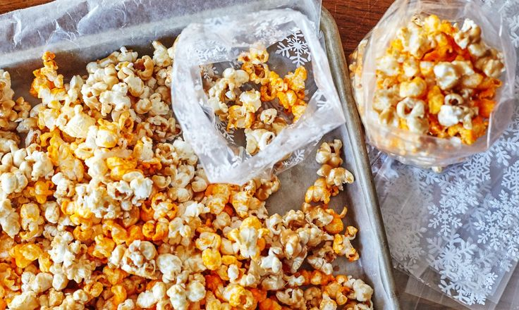 This is how to give the gift of popcorn.