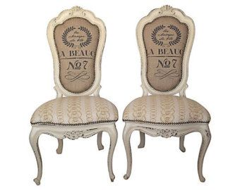 burlap chairs