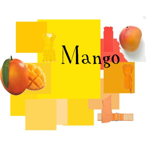Just Color: Mango, created by authenticbeauty
