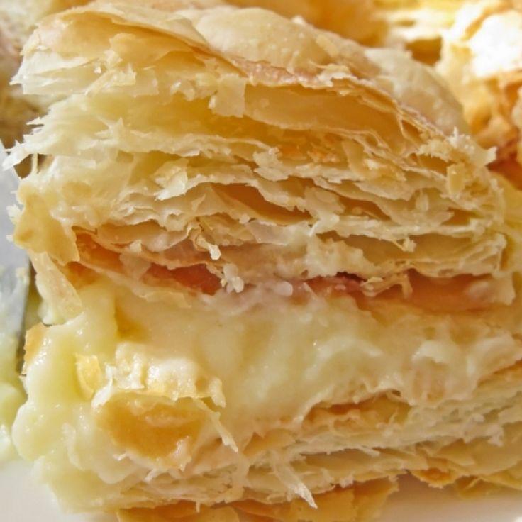 слоеное тесто для наполеона рецепт с фото маринования рыба оборачивается