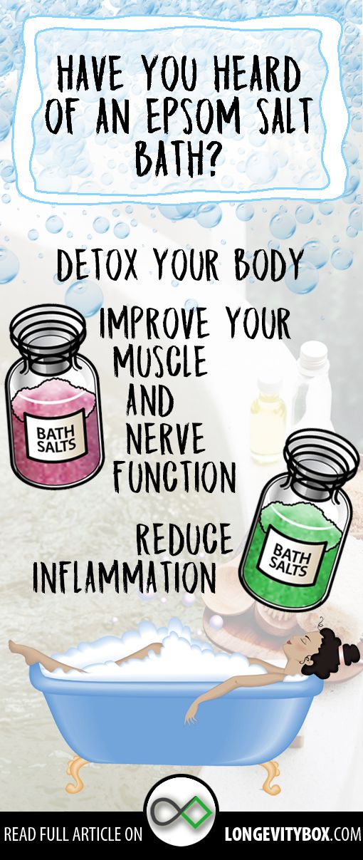This bath detox your body improves your muscle and nerve function and reduce inflammation