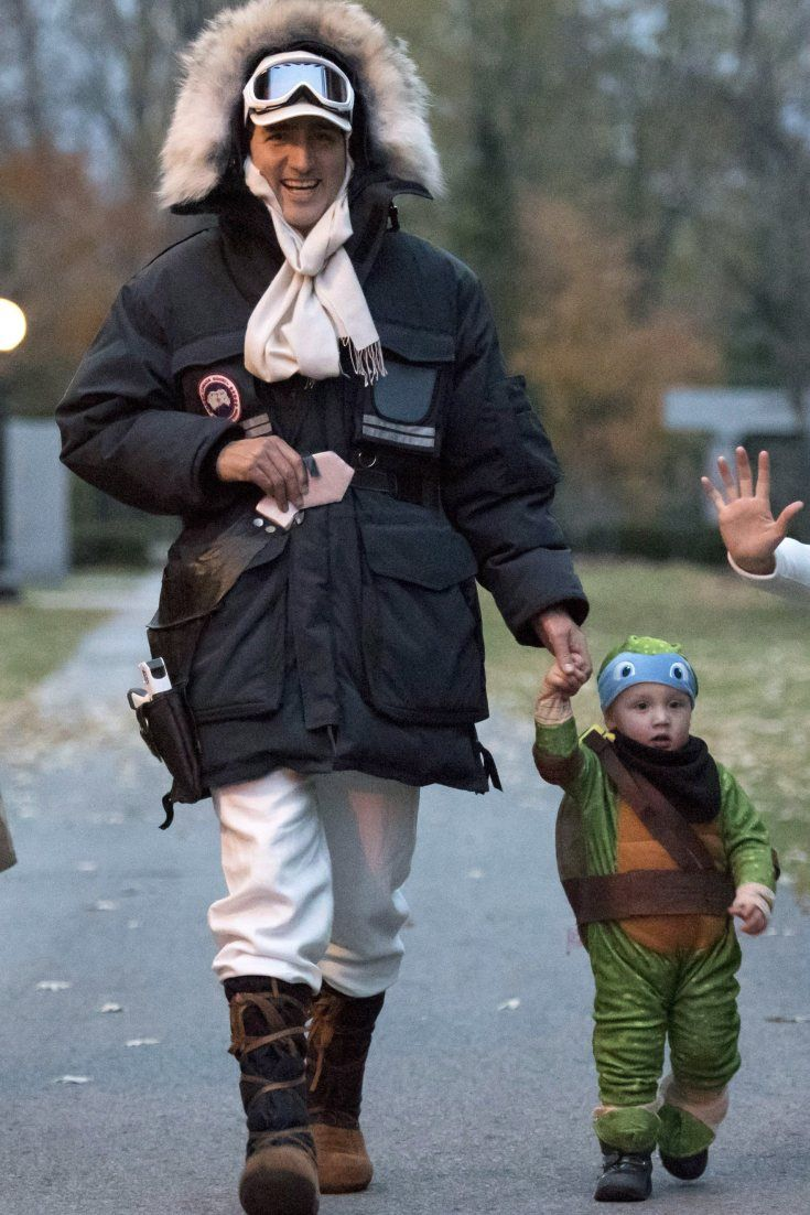 Justin Trudeau And Family Get All Dressed Up For Halloween