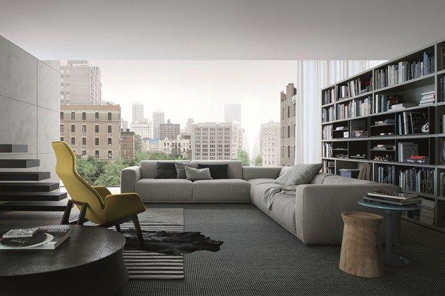 Pretend Penthouse - Living Room Design Ideas & Pictures - Decorating Ideas (houseandgarden.co.uk)