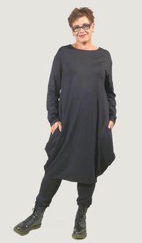 Bodycelli.nl Dè webshop voor grote maten dameskleding! :: jurk :: jurk punten jersey Vetono