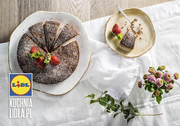 Szwedzkie ciasto czekoladowe kladdkaka. Kuchnia Lidla - Lidl Polska #rafalrutkowski #kladdkaka