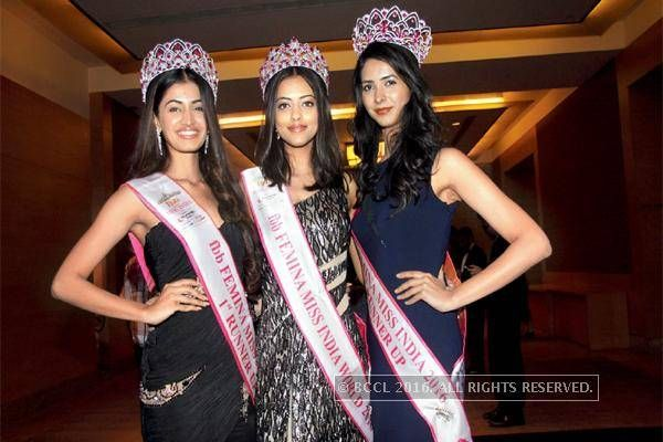 Miss India 2016 winners at NRI of the year awards