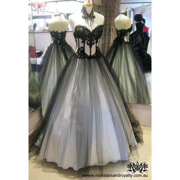 Gothic Wedding ❤ liked on Polyvore