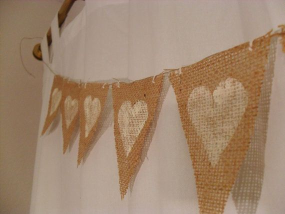 Hey, I found this really awesome Etsy listing at http://www.etsy.com/listing/121739171/white-hearts-burlap-bunting-banners
